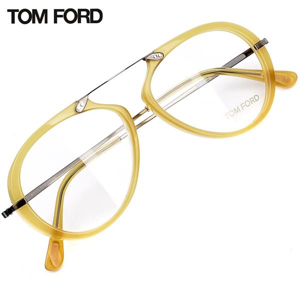 TOM FORD Clear Eyeglasses Acetate+Steel Frame Lens Eyewear ...